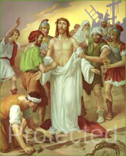 Stations of the Cross (Way of the Cross) - Tenth Station