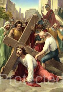 Stations of the Cross in Igbo - Third Station - Nkwusi nke Ato