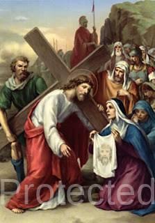 Stations of the Cross in Igbo - Sixth Station - Nkwusi nke Isii