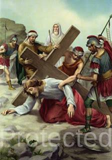 Stations of the Cross (Way of the Cross) - Seventh Station