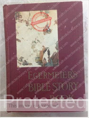 Back cover of Egermeier's Bible Story Book 1939 Edition
