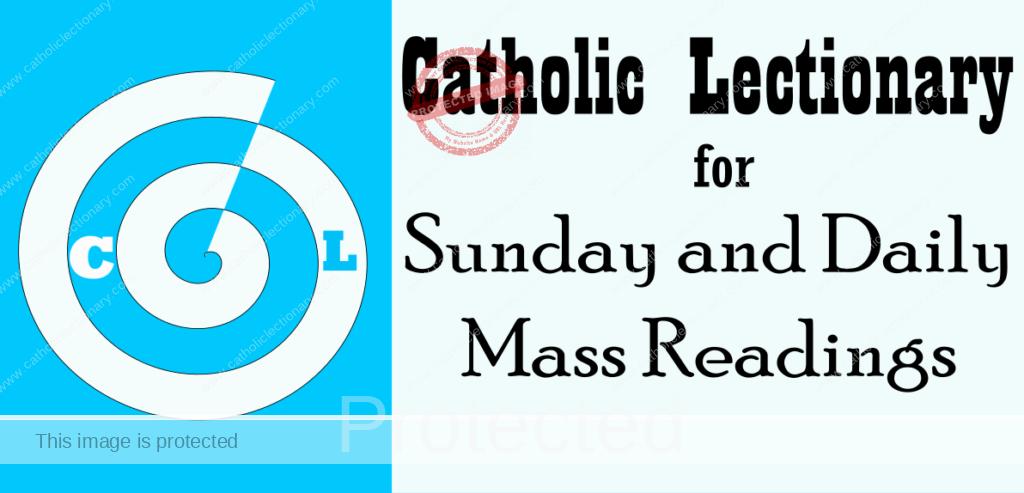 Catholic Daily Mass Readings 2021 - Sunday Mass Readings Year B