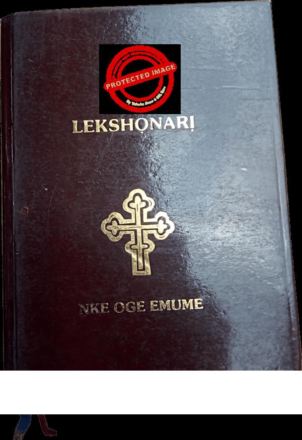 Igbo Lectionary maka Oge dabara n'Emume