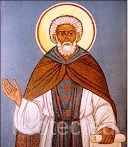 Saint of the day for April 3, Saint Benedict the Moor