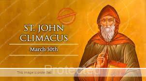 Saint of the Day for march 30, Saint John Climacus