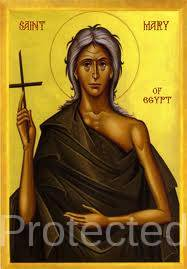 Saint of the day for April 2, Saint Mary of Egypt