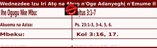 Igbo Mass Readings November 11 2020, Ncheta Martin nke Tours Dị Asọ.