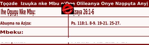 Igbo Mass Readings December 3 2020,  Ncheta Francis Xavier dị asọ - Tọọzde Izuụka nke Mbu n'Oge Olileanya Onye Nzọpụta Anyị.