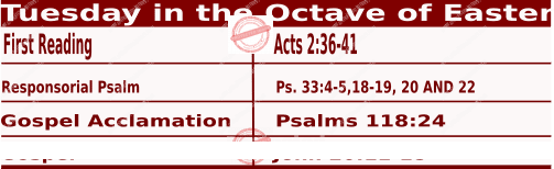 Daily Mass Readings for April 6 2021